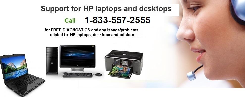 HP Customer Support Number - Get rid of Black Screen Error