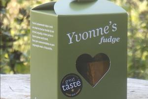 Yvonne's whisky fudge.