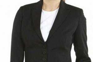 Women suit: - 2 pieces (jacket - pants)