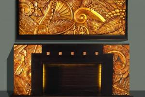 Art-Deco Fire Place