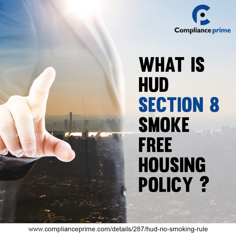 HUD section 8 smoke-free housing policy