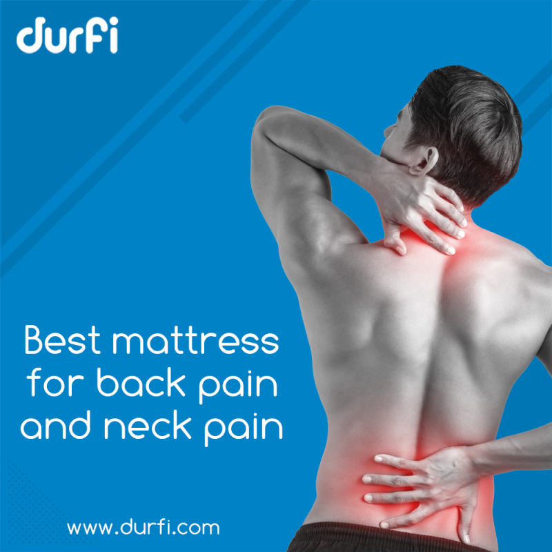 best mattresses for back and neck pain