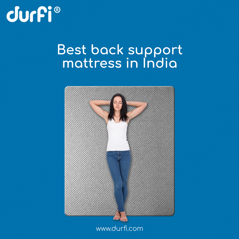 back support mattress in India