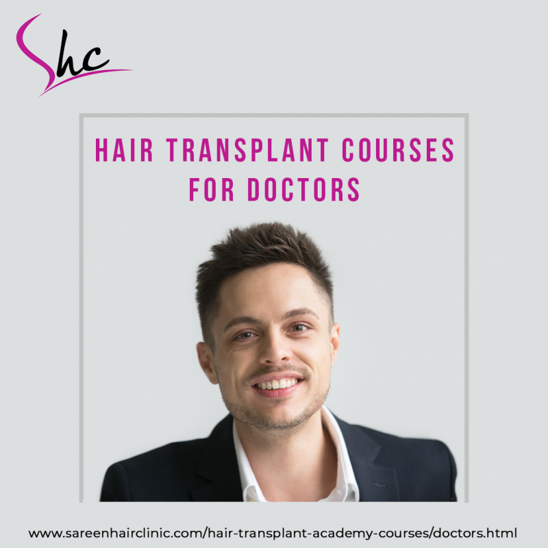 best hair transplant courses