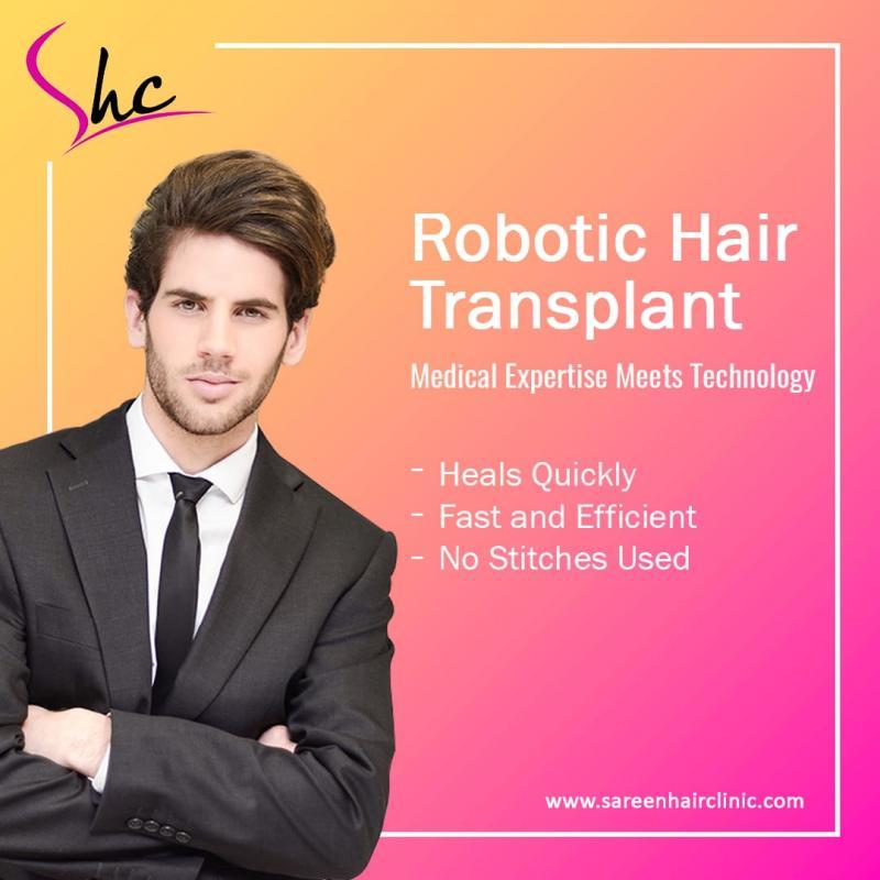 best robotic hair transplant in Delhi