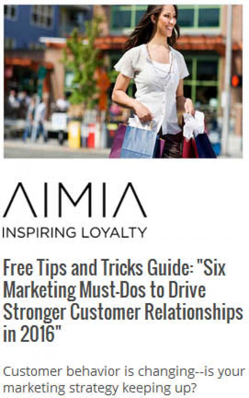 Six Marketing Must-Dos to Drive Stronger Customer Relationships in 2016